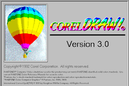 Get Free Download Software Corel Draw Version 3.0 for Computer or Laptop