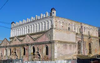 Жовква. Львівська обл. Оборонна синагога. 1692 р.