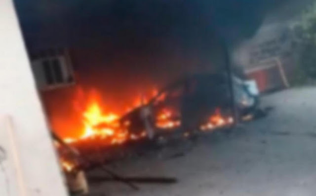 """Sujetos armados """"sitian"""" la sindicatura """"El Tamarindo"""" en Culiacán, Sinaloa"""