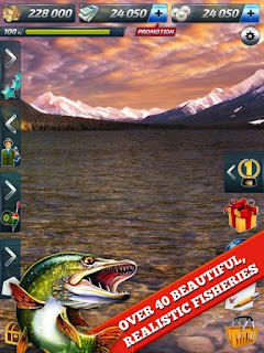 Let's Fish: Sport Fishing Apk