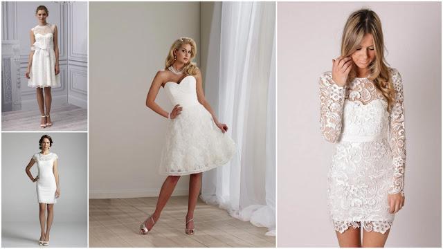 Тренд свадебной моды – короткие свадебные платья