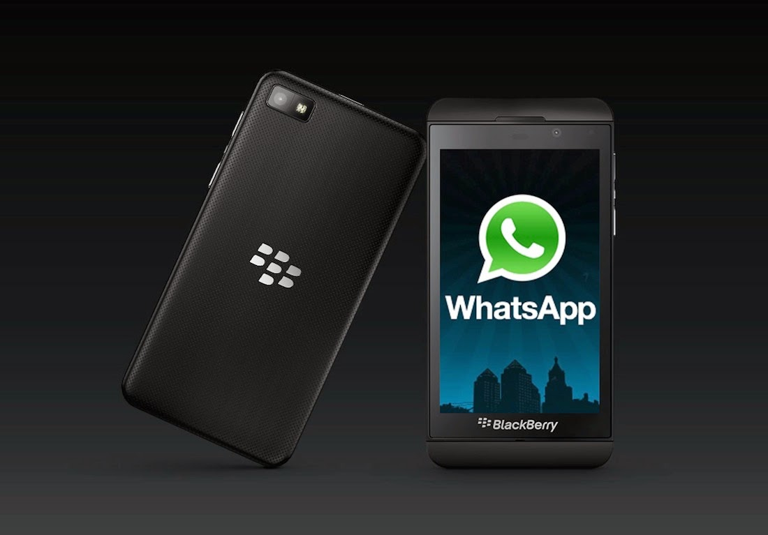 Cara download whatsapp di hp blackberry z3
