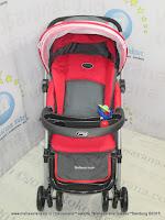 Pliko PK368 Bebesitos 3-Layer Canopy Baby Stroller