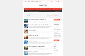 Nubie Fast Template Blogger Responsive