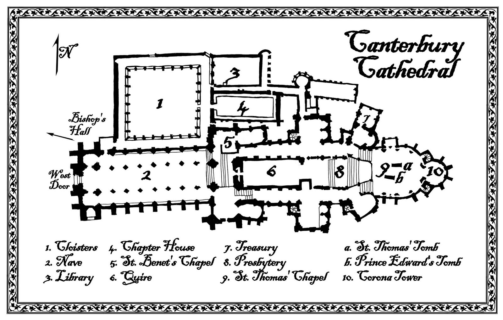Cathedral Of Learning Floor Plan Poe S Deadly Daughters More Medieval Mayhem