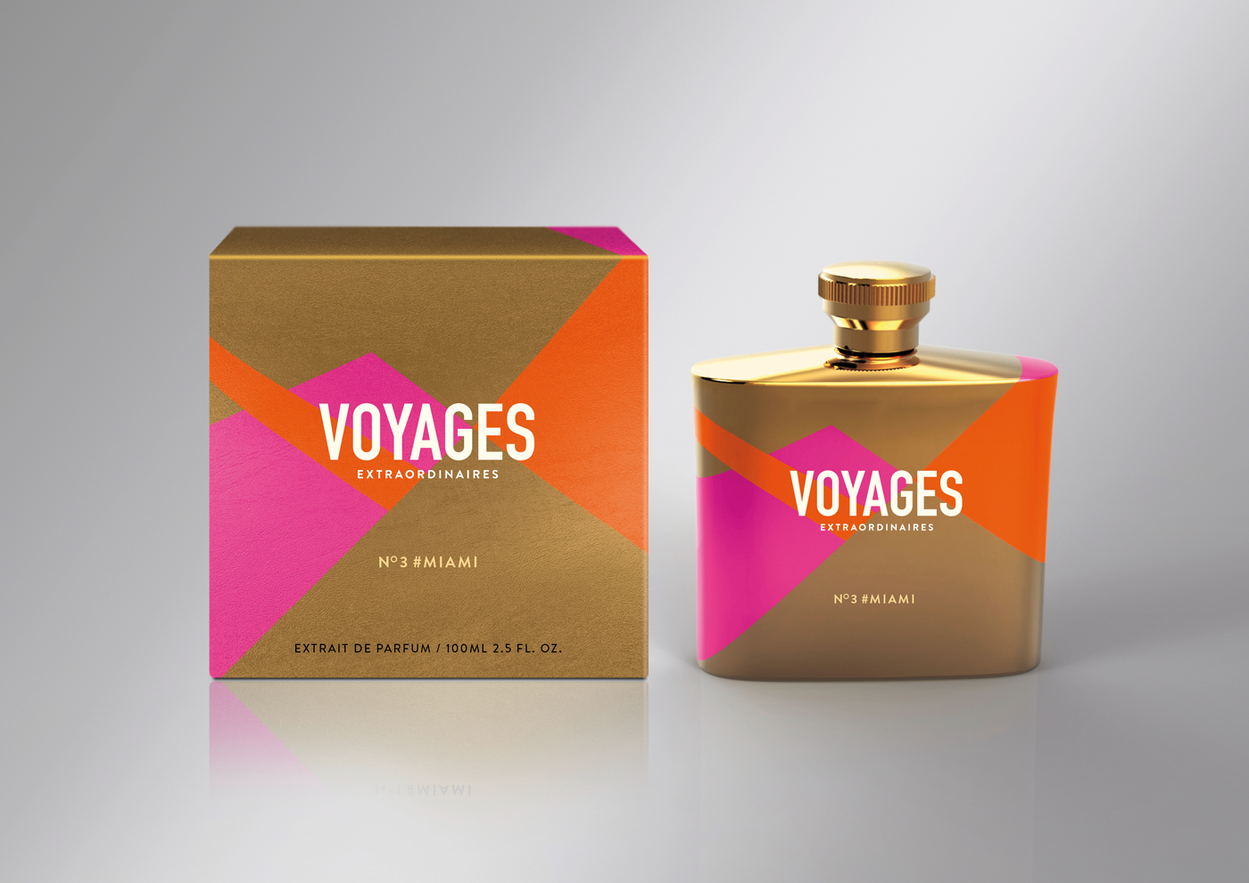 Colour Scheme Designer Voyages Extraordinaires Perfume Concept On Packaging Of
