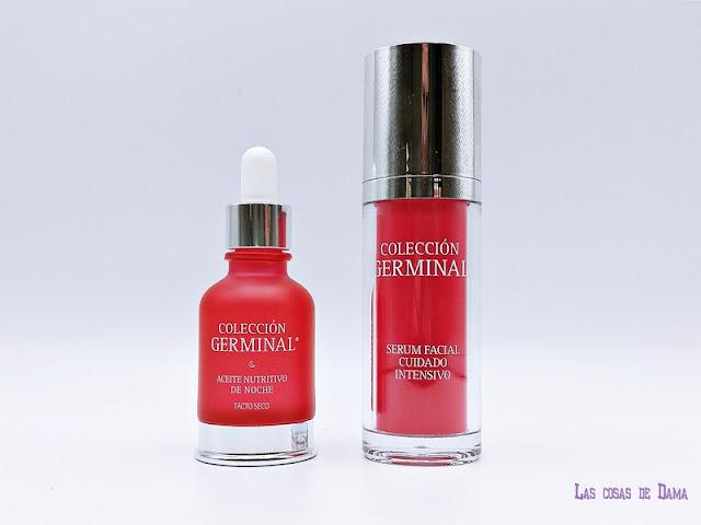 Colección Germinal deluxe antiedad skincare beauty facial dermocosmetica belelza serum aceite farmacia