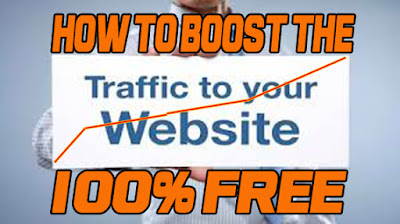 how to boost your site traffic for free