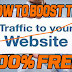 15 Simple Ways To Increase Your Website Traffic For Free