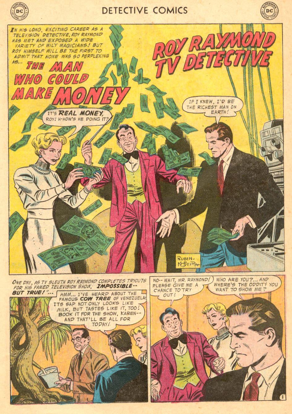 Read online Detective Comics (1937) comic -  Issue #242 - 17