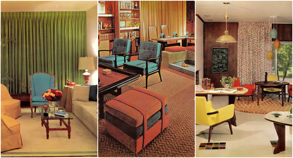 1960s Interior Décor The Decade Of Psychedelia Gave Rise To