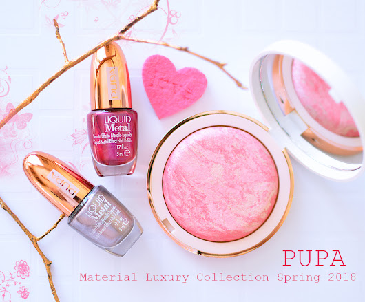 Pupa Material Luxury Collection Spring 2018