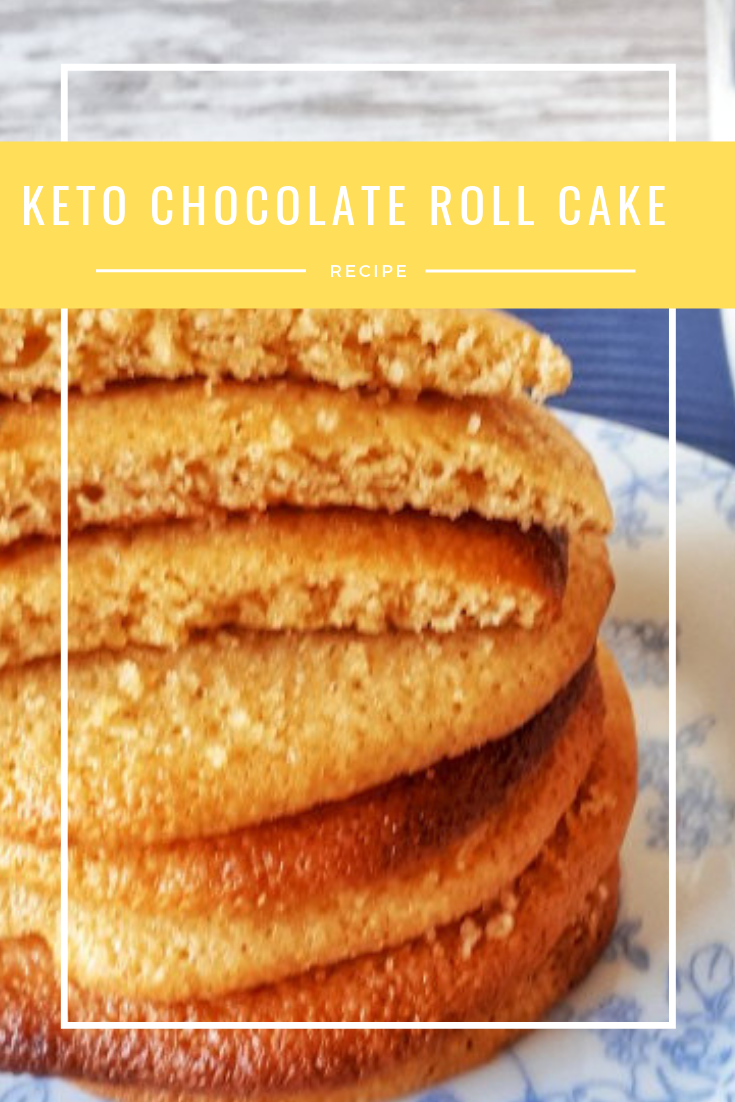 #Keto #Chocolate #Roll #Cake