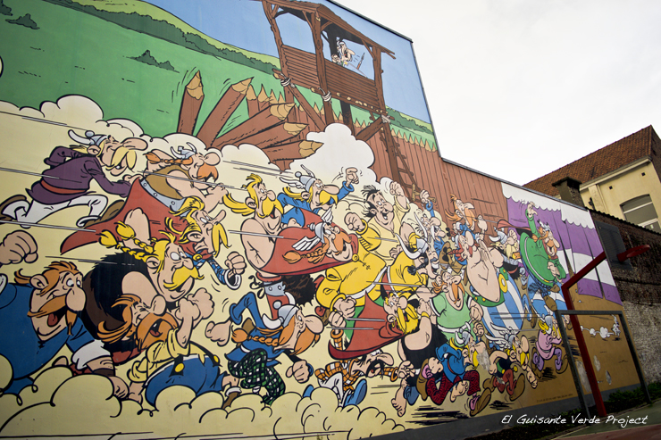 Asterix - Bruselas por El Guisante Verde Project