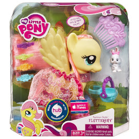 MLP Fashion Style Fluttershy Brushable Pony