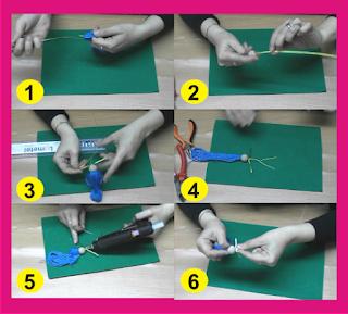 Como hacer la muñeca de alambre paso a paso