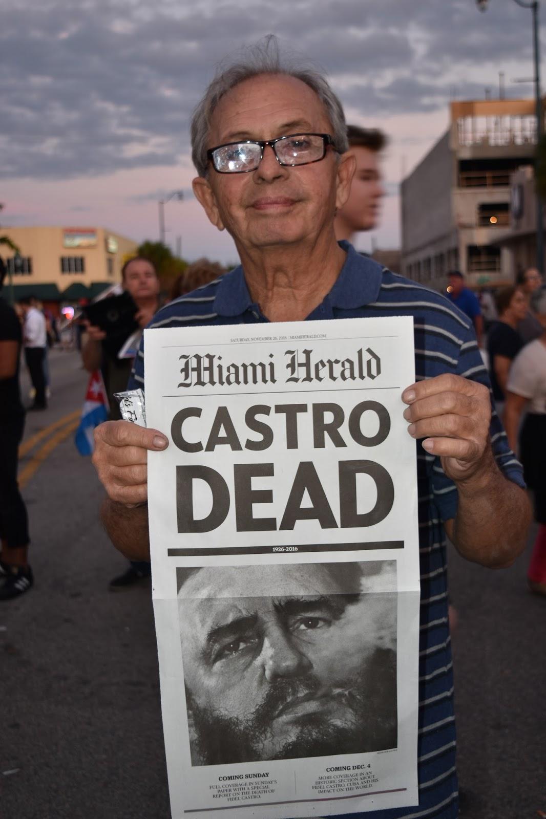 Miami Herald: Castro Dead