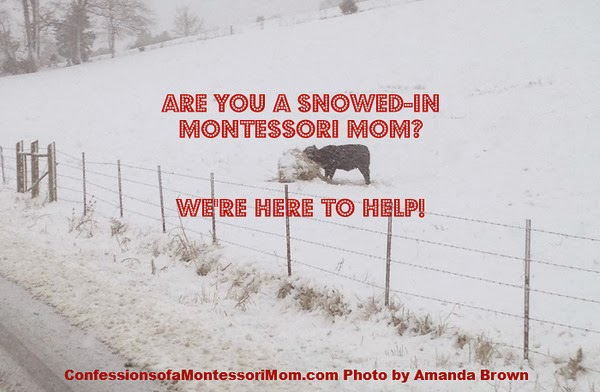 Are You a Snowed-in Montessori Mom? We're Here to Help!