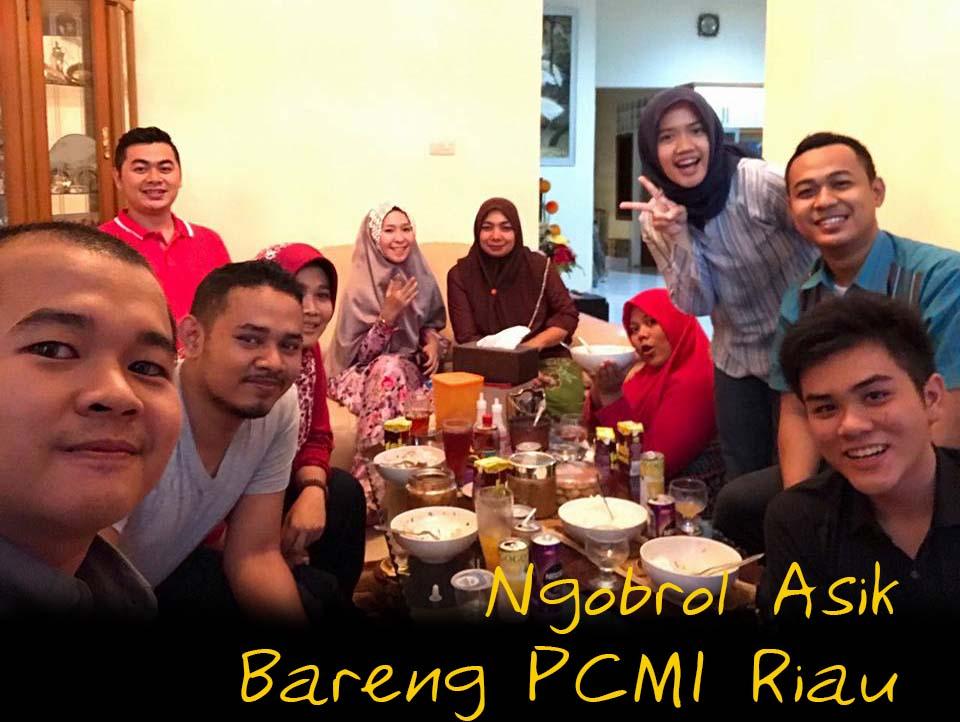Ngobrol Asik Bareng PCMI Riau