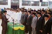 Bupati Lantik Pejabat Struktural Eselon II, III, IV  Lingkup Pemkab.Kep.Selayar