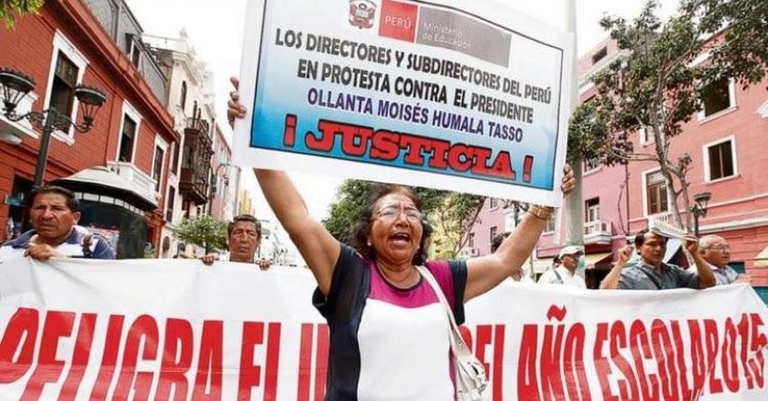 Directores retirados por negarse a rendir prueba volverían a sus cargos, según Proyecto de Ley presentado por Congresistas del Fujimorismo y el Apra