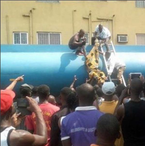 Security man found dead inside petrol tanker