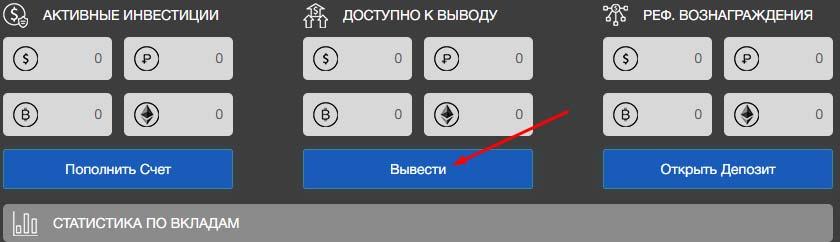 Вывод средств в BitWat