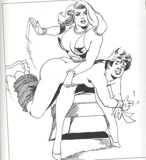 fm otk spanking art