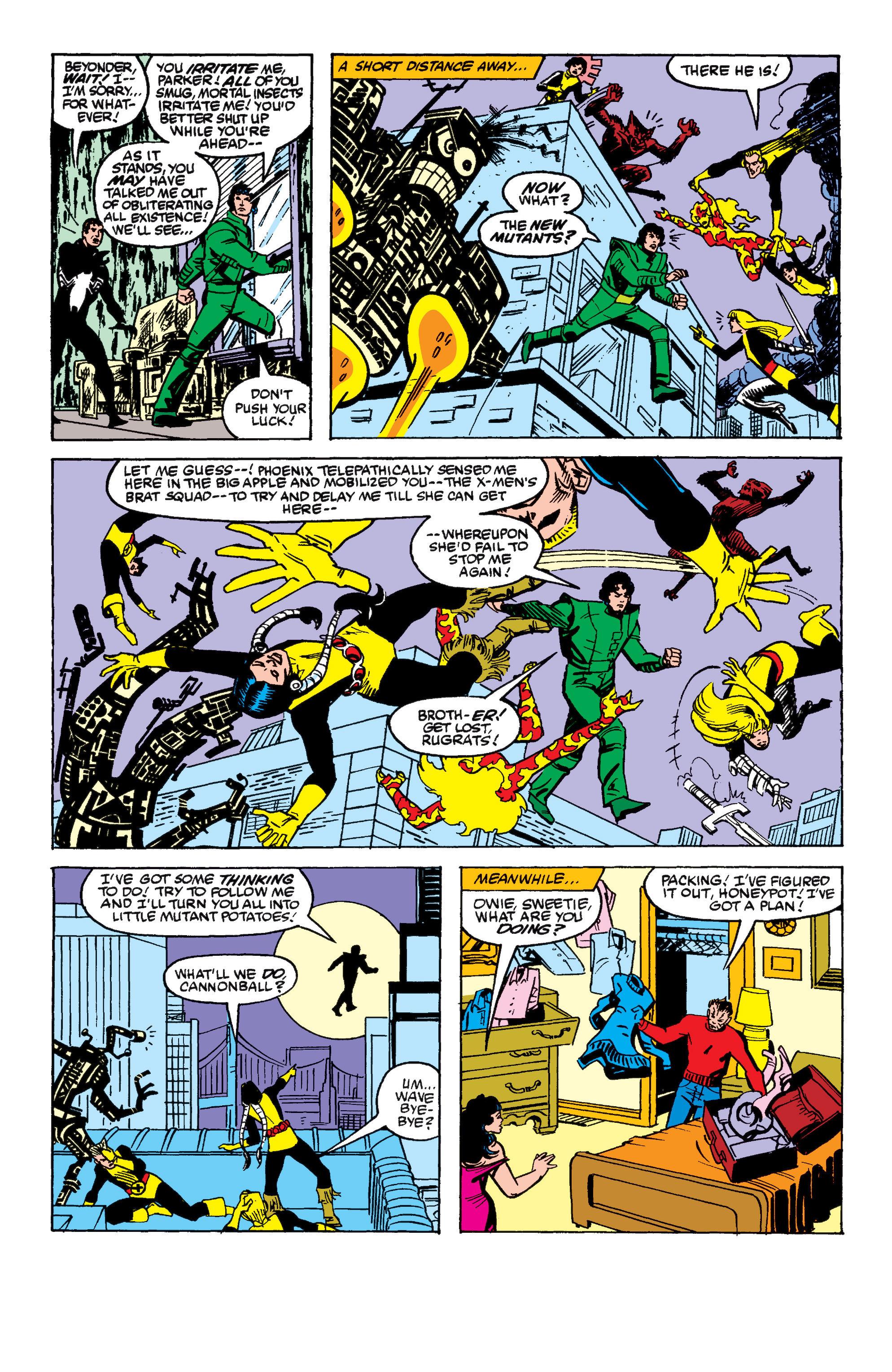 Read online Secret Wars II comic -  Issue #8 - 22