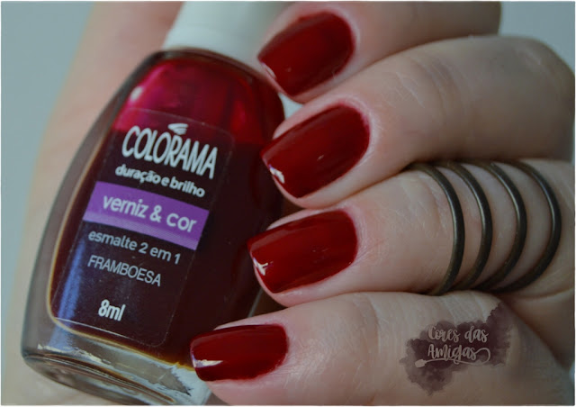 Esmalte Nailpolish Colorama Framboesa