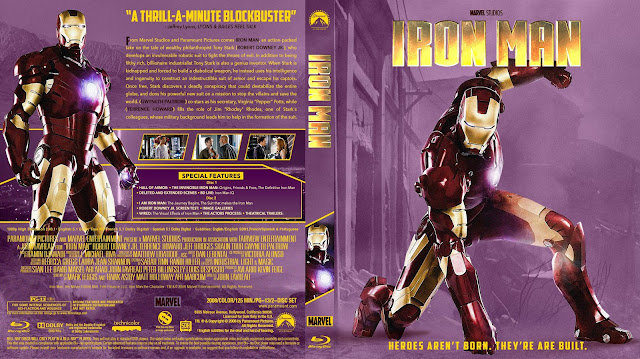 Iron Man Bluray Cover