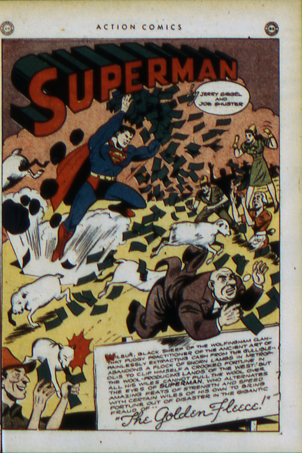 Read online Action Comics (1938) comic -  Issue #79 - 4