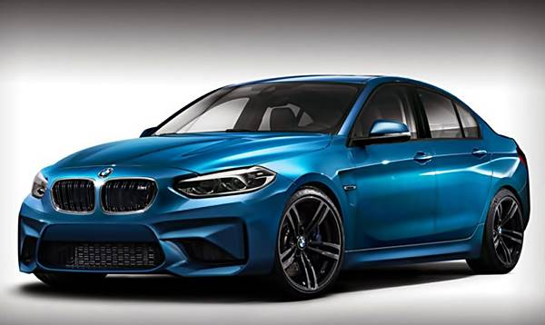 BMW M1 Sedan Receives Virtual M-Dress