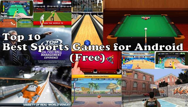 10 Game Olahraga Terbaik Untuk Android - Bilik Android
