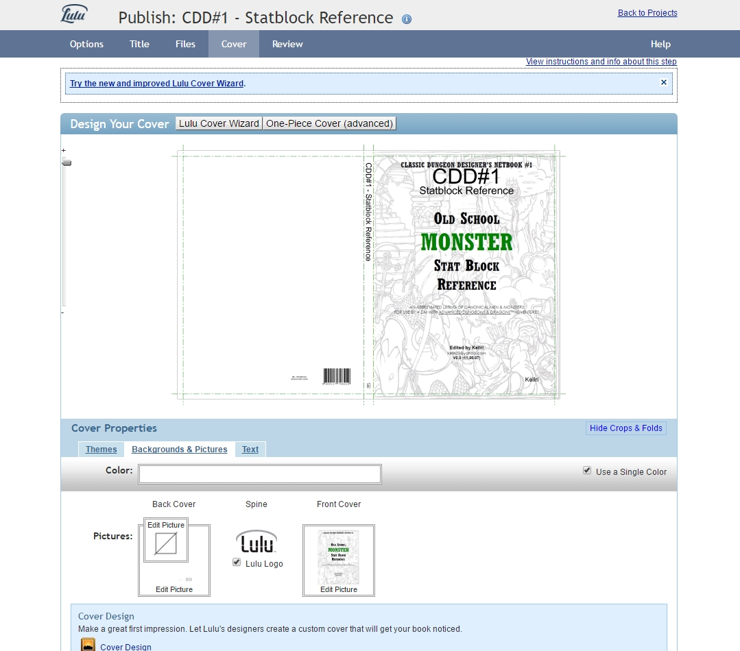 merlin vanlandingham print yourself a diy rpg book from a pdf with