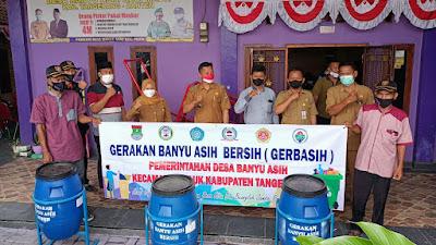 Ciptakan Lingkungan Bersih Melalui Gerbasih di Pemdes Banyuasih