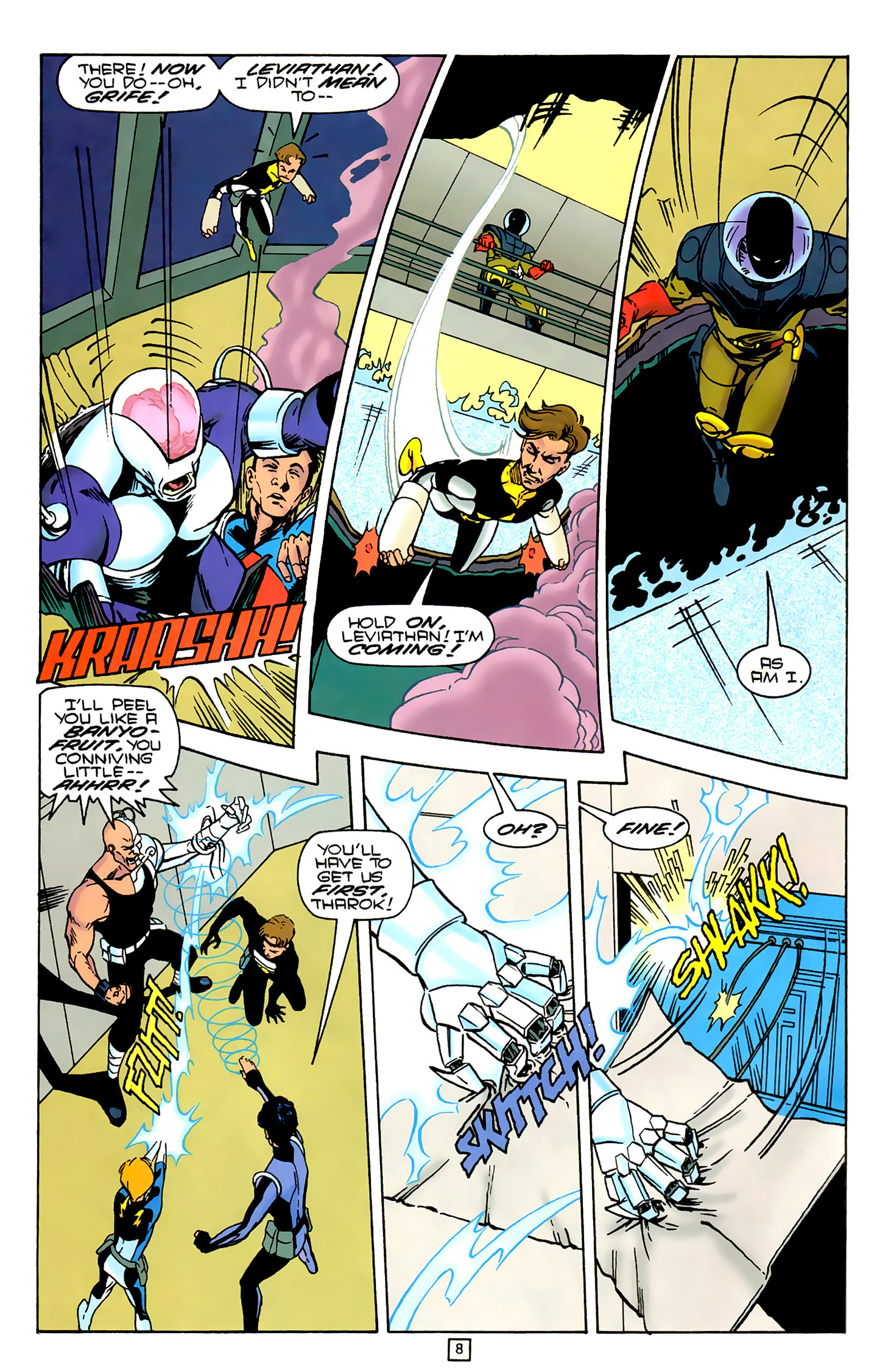 Legion of Super-Heroes (1989) 79 Page 7