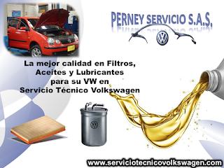 Cambio de Aceite - Taller Volkswagen - Perney Servicio SAS