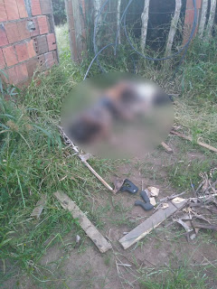 Casal assassinado corpos queimados