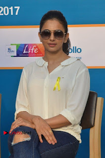 Actress Rakul Preet Singh at Endometriosis Awareness Walk at Apollo Cradle  0068.jpg