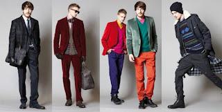 Tendências de moda masculina outono/inverno 2012 - Fotos - Modelos