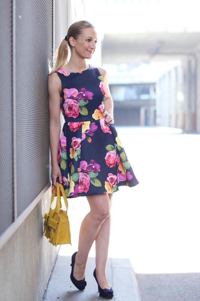 Zara blogger kleid schwarz