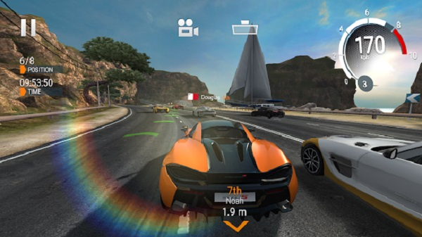 Gear Club iPhone iPad Android juegos de autos gratis