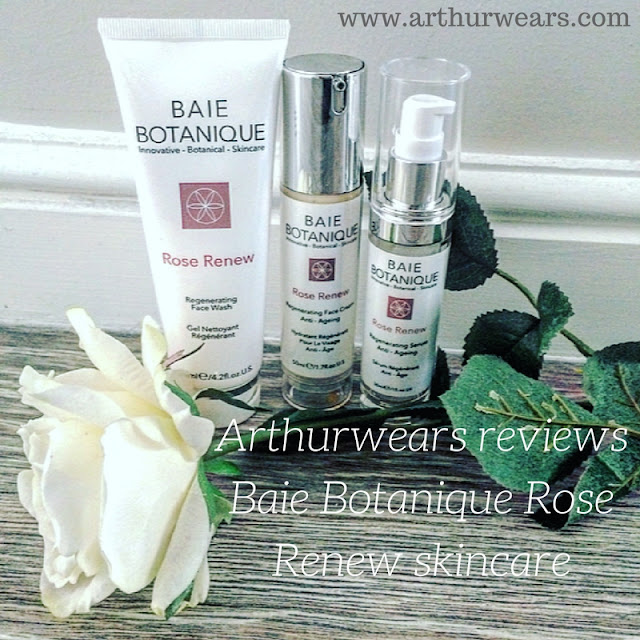 Baie Botanique rose renew skincare review