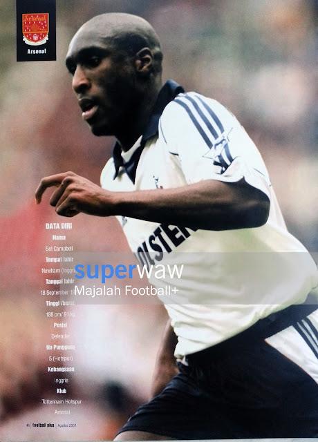 Sol Campbell (Tottenham Hotspurs)