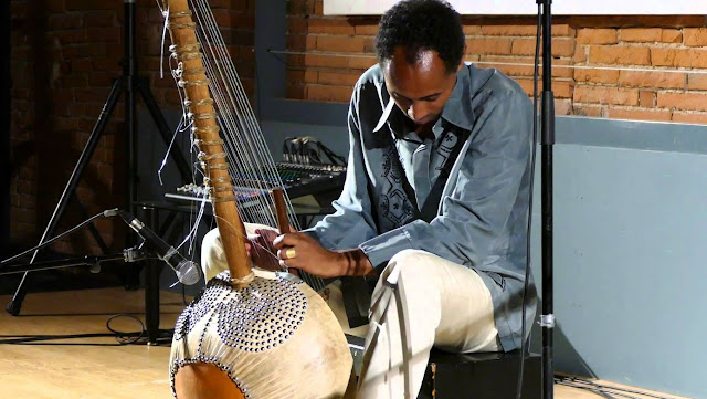 Tunde Jegede is a world-renowned composer, producer, cellist and kora virtuoso