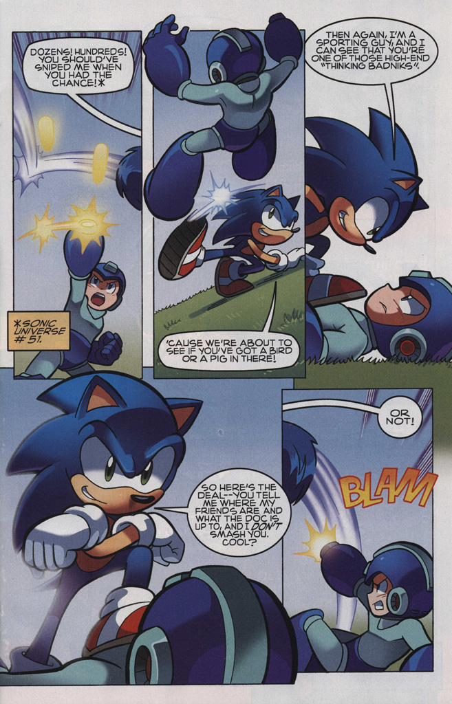 Read online Sonic The Hedgehog comic -  Issue #248 - 5