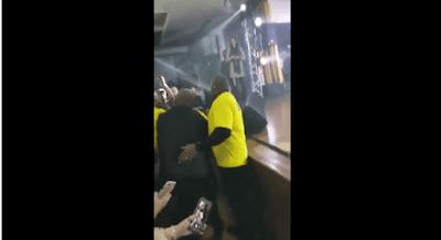 VÍDEO Eduardo Costa manda seguranças baterem em fã