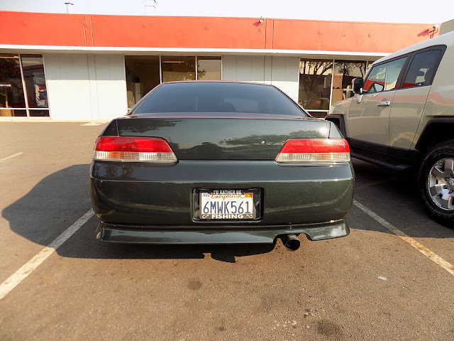 1997 Honda Prelude after overall paint job at Almost Everything Auto Body.