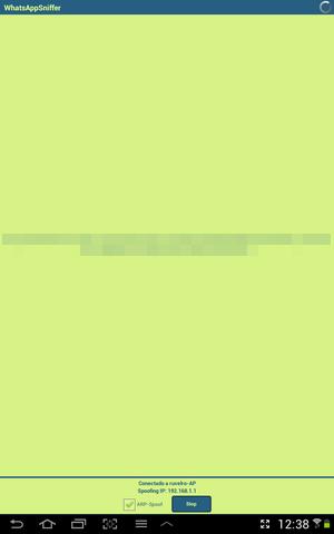 [Whats AppSniffer] Capture troca de mensagens entre dois dispositivos 1